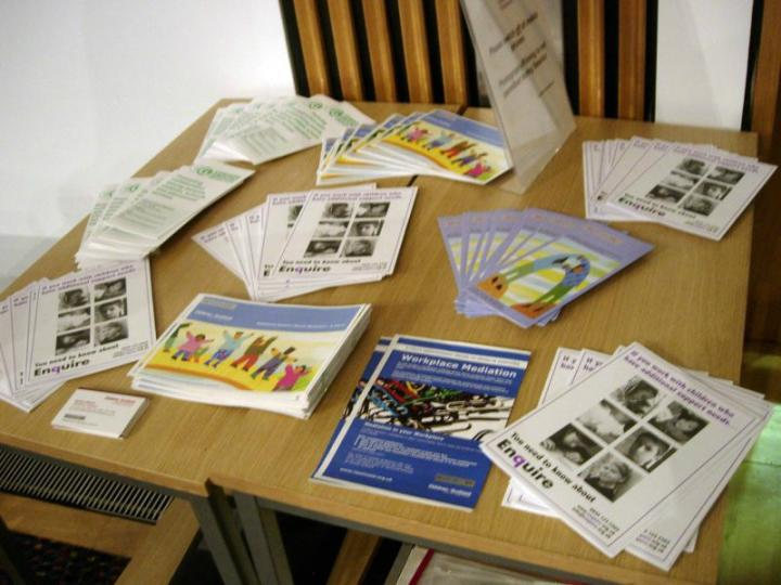 RESOLVE & Common Ground Mediation's leaflets