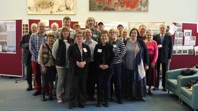 Group photo of Classics alumni