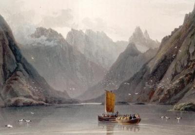 Painting of Loch Coruisk