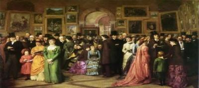 Victorian art gallery