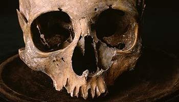 The skull of George Buchanan