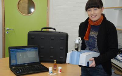 Spectroscopy in a Suitcase