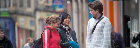 Students on Victoria Street