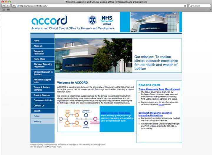 accord website
