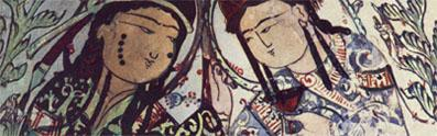 Detail of islamic painting