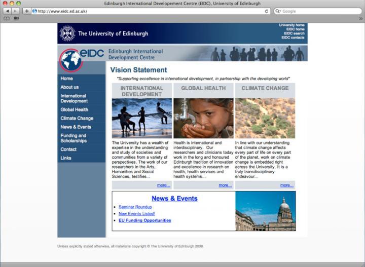 eidc webpage