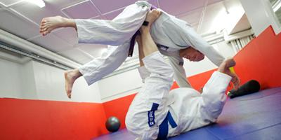 The Grappling Zone is an ideal space to practice those judo throws.