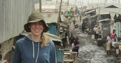 Melissa in Nairobi