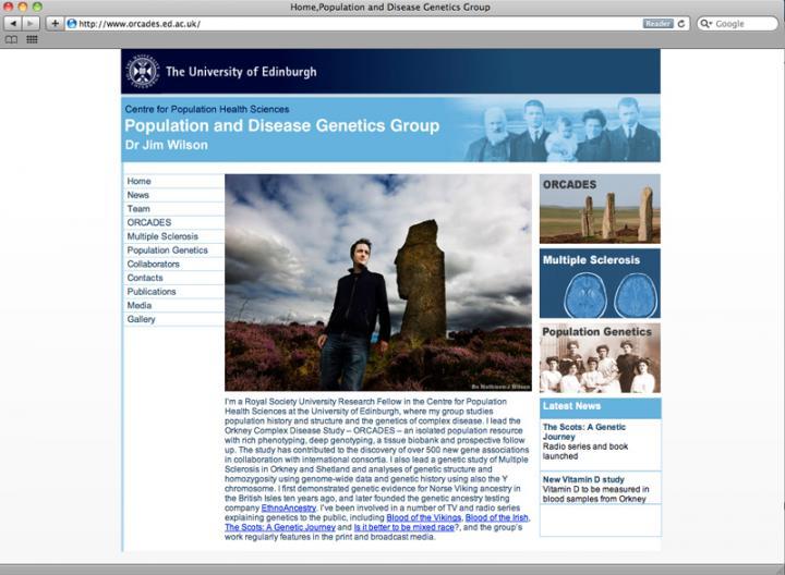 Orcades Website