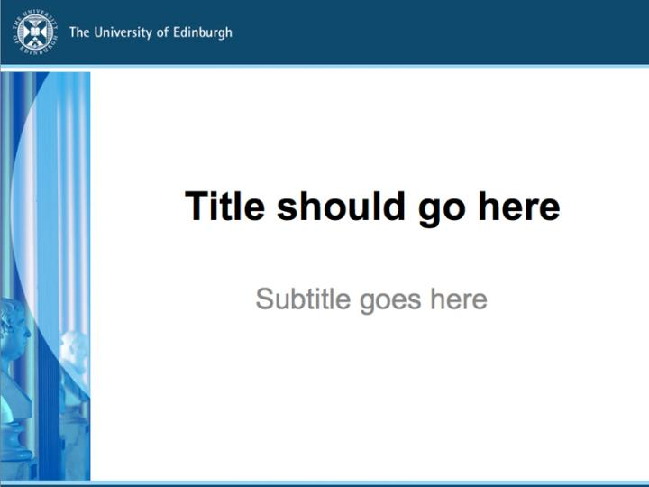 Powerpoint templates the university of edinburgh profile of statues in playfair library powerpoint image toneelgroepblik Gallery