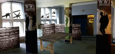 Design of World War I hub
