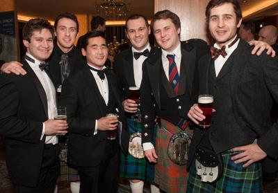 Rugby reunion dinner