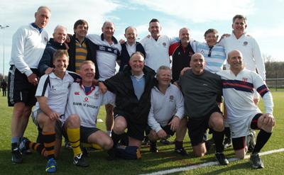 Rugby reunion match