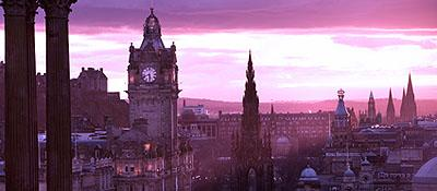 Photo of Edinburgh skyline