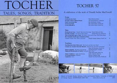 Tocher 57 cover