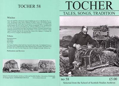 Tocher 58 cover