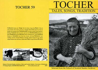 Tocher 59 cover
