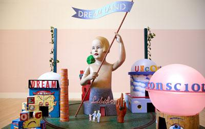 Dreamland Architectural Model, Zoe Beloff, 2009