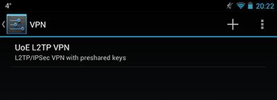 VPN configured