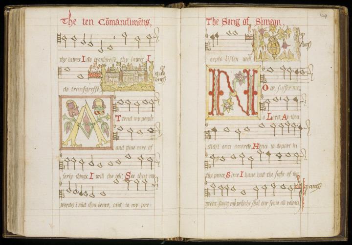 Wode Psalter medieval manuscript
