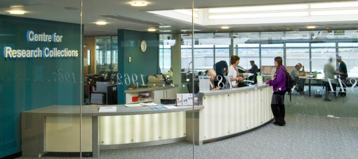 The Centre for Research Collections reception