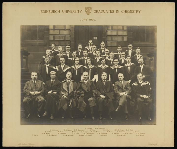 Graduates in Chemistry, 1932