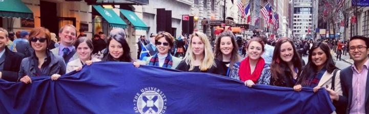 Edinburgh alumni and staff in New York during Scotland Week