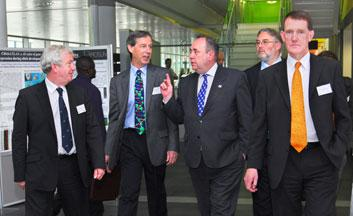 First Minister of Scotland at the new Roslin Institute Building