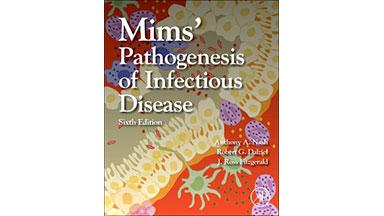 Book cover of Mim's Pathogenesis of Infectious Disease