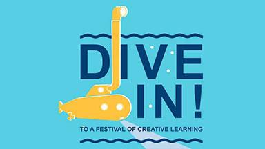 Dive In! To a festival of creative learning logo