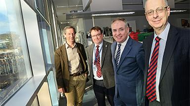 Richard Lochhead with Jonathan Seckl, David Argyle and David Hume
