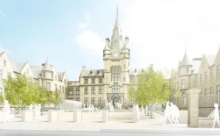 Edinburgh Futures Institute artist impression by Bennetts Associates