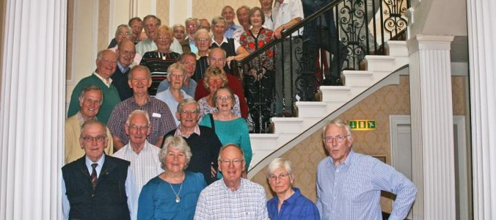 The MBChB Class of 1963 at a recent reunion
