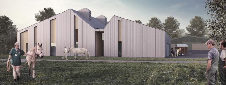 New Equine Hospital - Artists Impression - Exterior