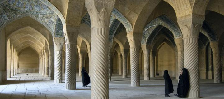 Women under Islamic arches