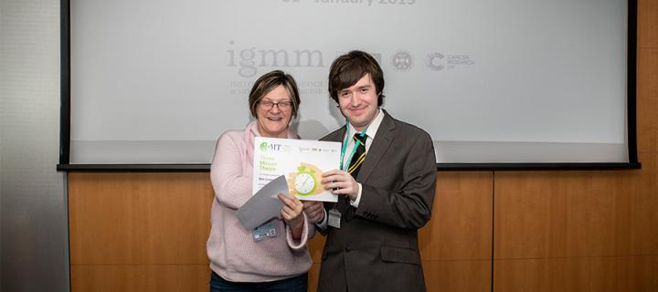 3 minute thesis winner