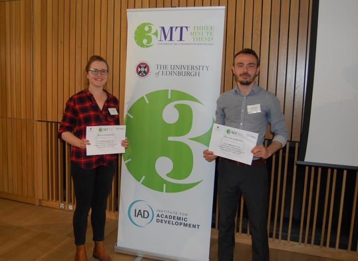Winners of the 3MT 2017 competition