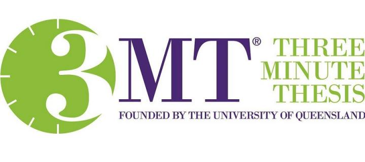 Logo for 3 Minute Thesis Competition