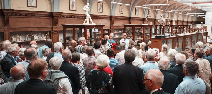 Class of 1966 visit the Anatomical Museum