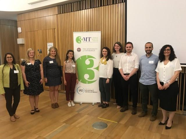 Three Minute Thesis Finalists