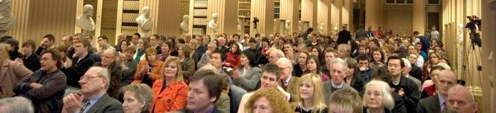 Audience at an event