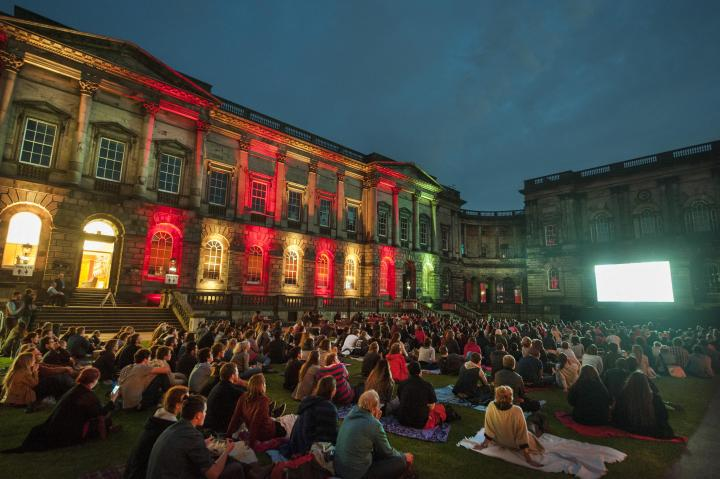 Old College Quad Outdoor Cinema