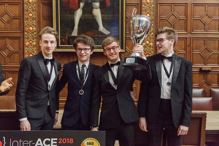 Inter-ACE Cyber-Security Challenge winners