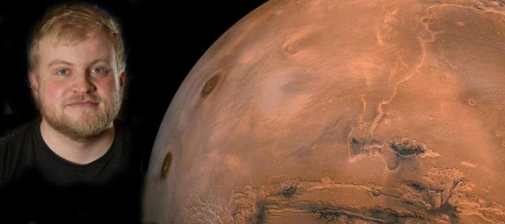 Dr Adam Stevens and the planet Mars