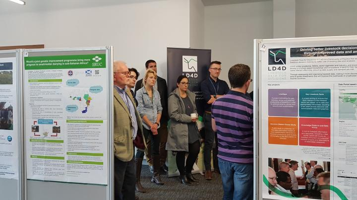 Participants learned about Edinburgh-based research on African livestock