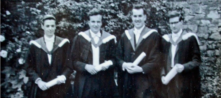 Chemistry 1966 Graduation Day