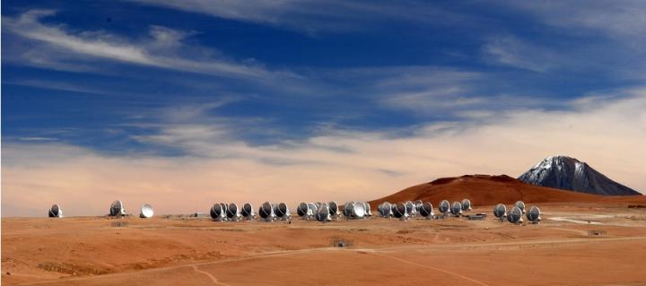 ALMA Array, Atacama Desert, Chile