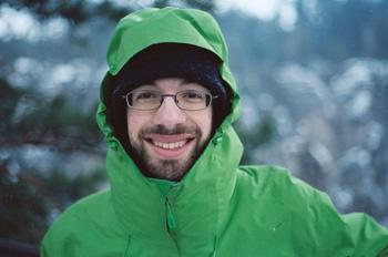 PhD student Andrew McLeod