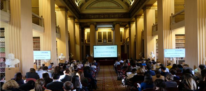 CCBS Away Day 2019 in the Playfair Library Hall