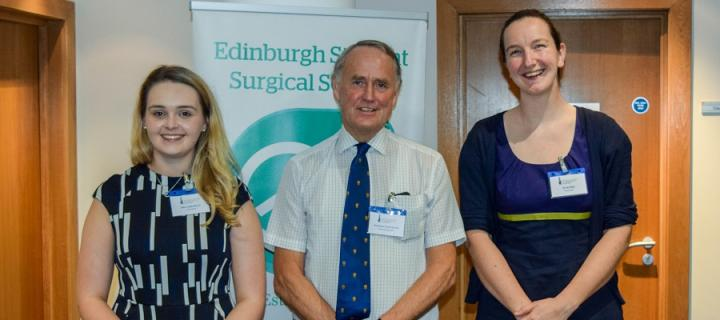 Eilidh Bruce , Professor David Sinclair and Dr Jenny Reid